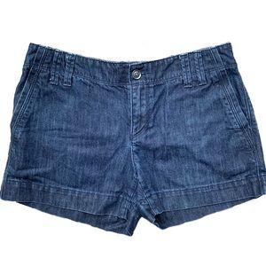 Ann Taylor Loft Dark Denim Shorts